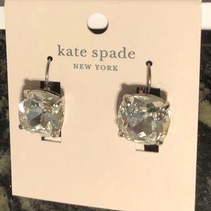Kate Spade silver drop  earrings